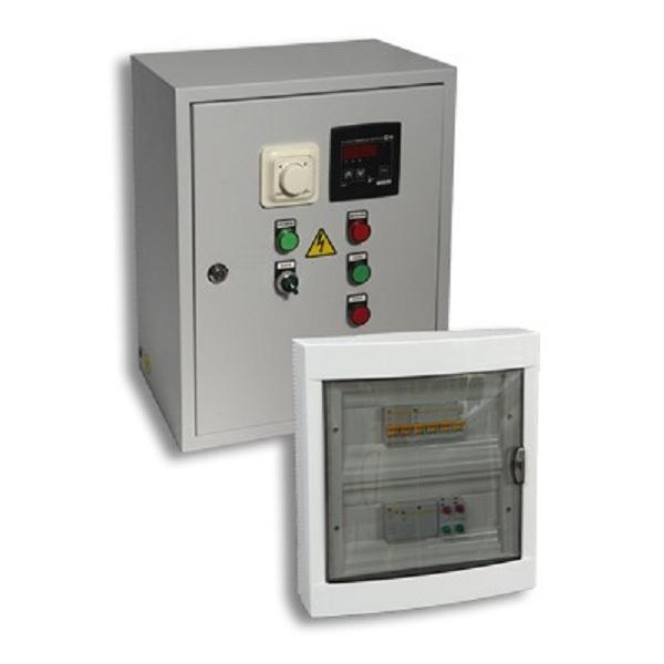 ЩУ приточными системами с электрическим калорифером